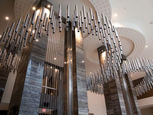 Jefferson Galatyn Park - Richardson, TX • Design Firm: SJL Design Group • Artist: Chris Judy w/Oscar Mejia