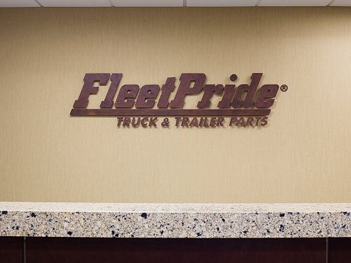 FleetPride Corp. Headquarters - Las Colinas, TX • Design Firm: ENTOS Design • Artist: Tyson Lamb