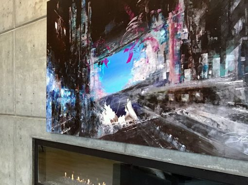 Aris Market Square - Houston, TX • Design Firm: SJL Design Group • Artist: Chris Judy
