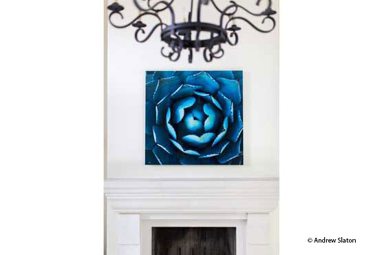 Private Residence - Dallas, TX • Designer: Katy Duvall Olson • Artist: Aaron Feinberg