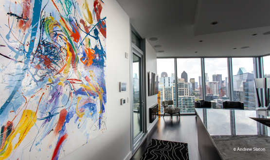 Private Residence – Dallas, TX • Artist: Chris Judy