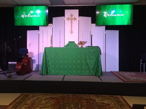 St. Michael & All Angels Church - Dallas, TX • Design Firm: SJL Design Group • Artist: Chris Judy